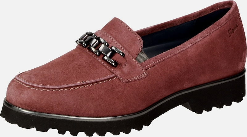 SIOUX Slipper ' Meredith-712-XL ' in hellrot: Frontalansicht