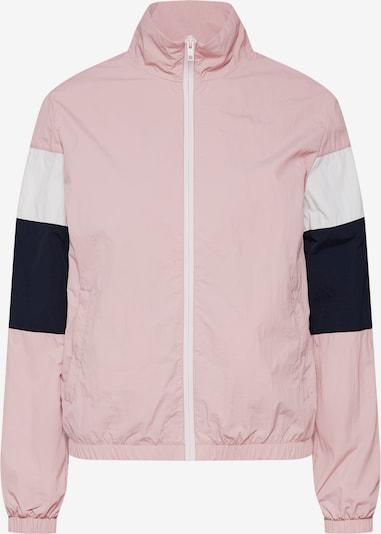 Urban Classics Curvy Prijelazna jakna u roza / crna / bijela, Pregled proizvoda