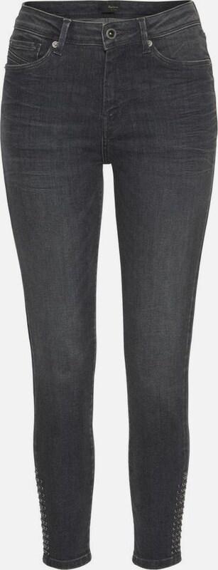 Pepe Jeans Jeans 'CHER HIGH STUDS' in grau denim  Markenkleidung für Männer und Frauen