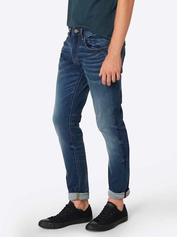 'hose En Label Jean oliver Denim Skinny' Bleu S Red DWEY9IH2