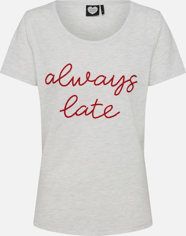 Hellgrau Late' T Junkie 'ts shirt Catwalk Always F1Av7qxnw