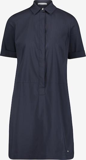 Public Hemdblusenkleid mit Knopfleiste in dunkelblau, Produktansicht
