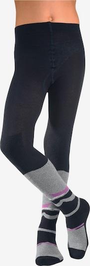 COLORS FOR LIFE Ski-Strumpfhose in schwarz, Produktansicht