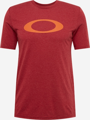 sarkans OAKLEY Sporta krekls 'O-BOLD ELLIPSE'