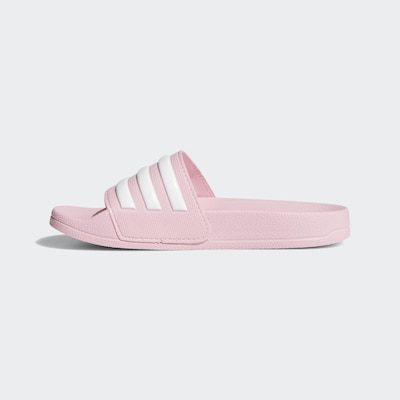 ADIDAS PERFORMANCE Shower Slipper 'Adilette' in hellpink / weiß, Produktansicht
