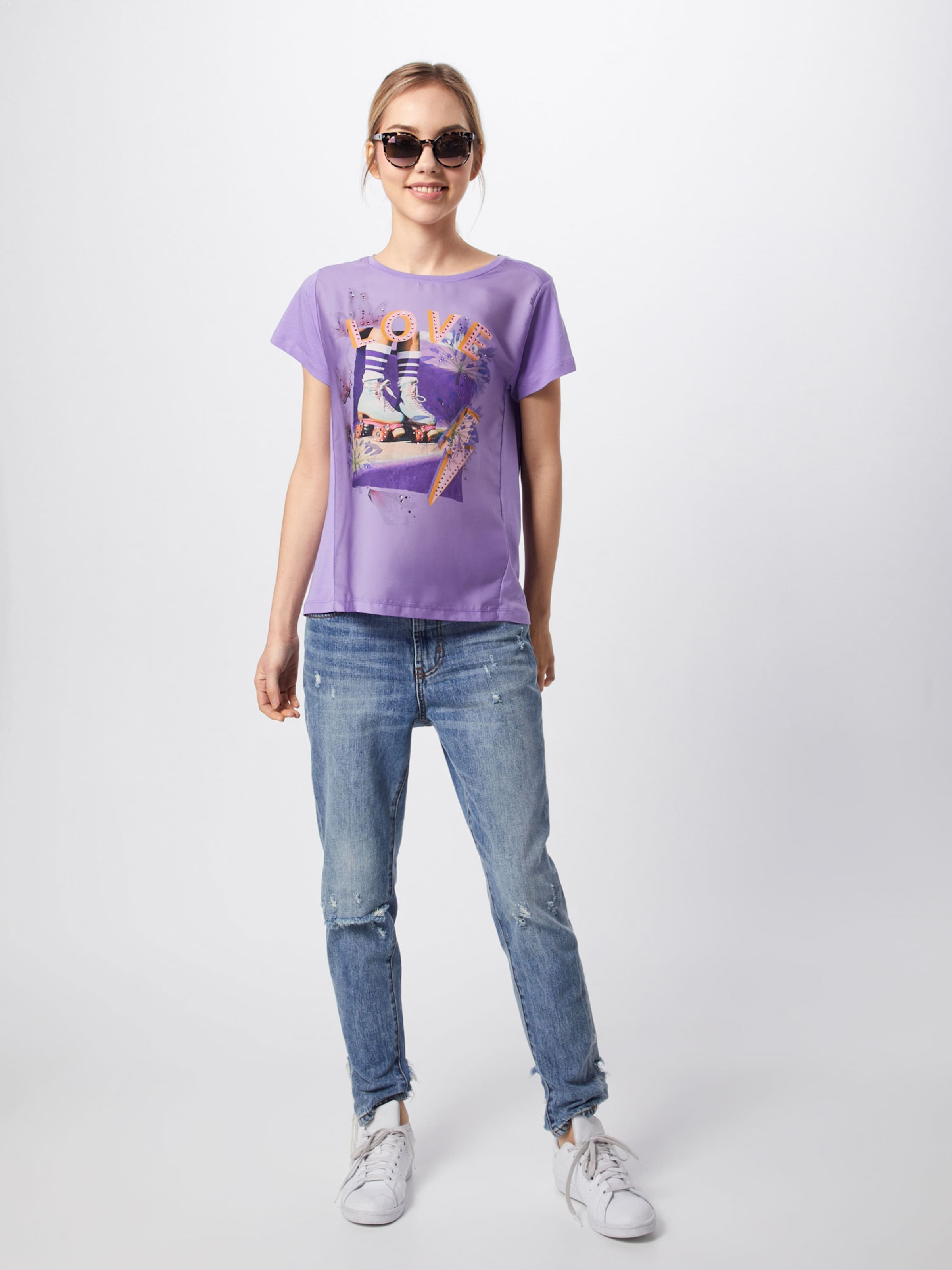 En T 'hey Royal Couleurs shirt De Richamp; Girl' VioletMélange QChrdts