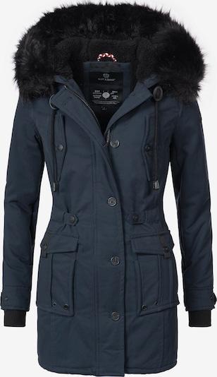 NAVAHOO Wintermantel 'Luluna' in nachtblau, Produktansicht
