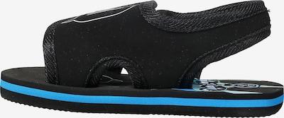 COLOR KIDS Badeschuhe 'Edi' in royalblau / schwarz, Produktansicht
