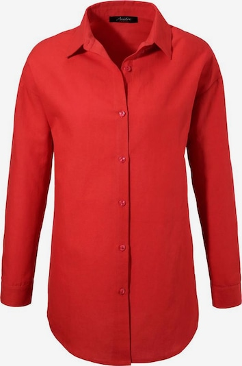 Aniston CASUAL Hemdbluse in koralle, Produktansicht