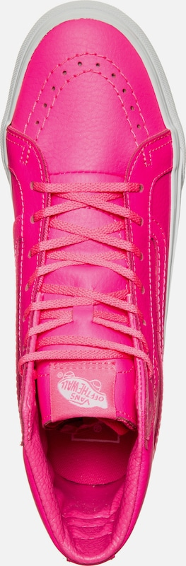 VANS  Sk8-Hi Slim Neon  Leather Sneaker Damen