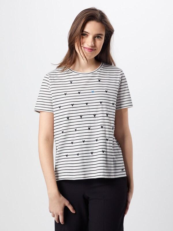 En With Tee Tailor Artwork' Tom NoirBlanc Heart Denim 'striped T shirt byvfgY76