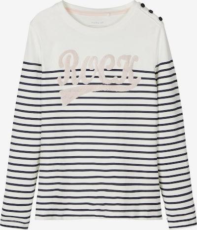 NAME IT T-Shirt en noir / blanc cassé, Vue avec produit