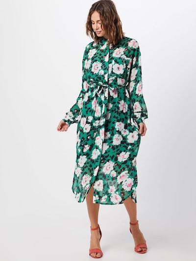 Essentiel Antwerp Kleid 'Voho' in grün / mischfarben: Frontalansicht