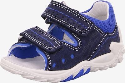 SUPERFIT Sandalen 'FLOW' in blau / dunkelblau, Produktansicht
