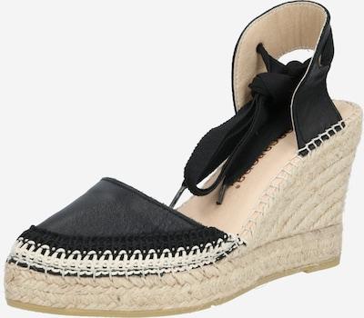 MACARENA Sandalette 'DENIS4' in beige / schwarz, Produktansicht