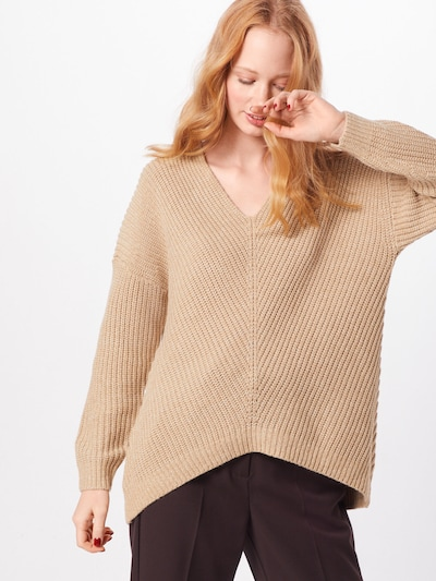 ONLY Pullover 'CELTINA' in beige, Modelansicht