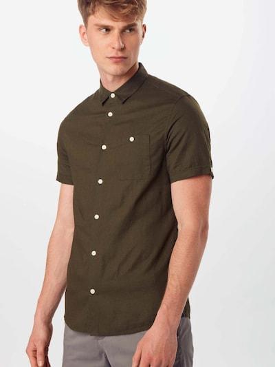 BURTON MENSWEAR LONDON Košile - khaki: Pohled zepředu