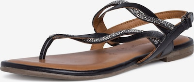 TAMARIS T-bar sandals in Black, Item view