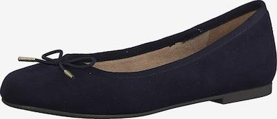TAMARIS Ballerinas in nachtblau, Produktansicht