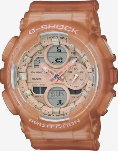 CASIO Uhr 'G-SHOCK' in creme / grau / apricot / rosa / schwarz, Produktansicht