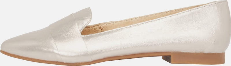 Bianco Ballerinas Slip-on-