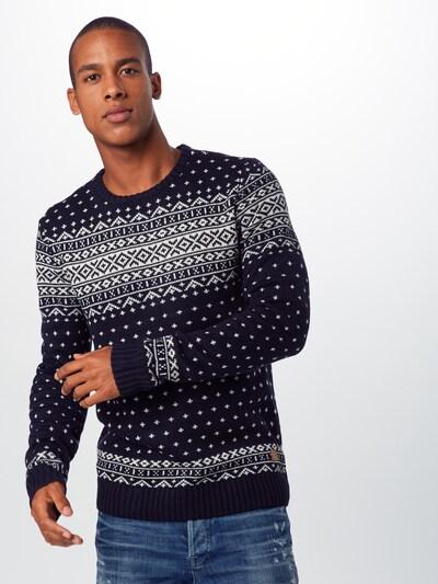 BLEND Džemperis pieejami kamuflāžas / balts: Priekšējais skats