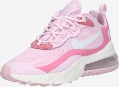 Nike Sportswear Baskets basses 'AIR MAX 270 REACT' en rose / rose / rose pastel / blanc, Vue avec produit