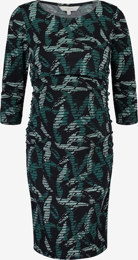 Noppies Robe 'Rani' en émeraude / vert pastel / noir: Vue de face