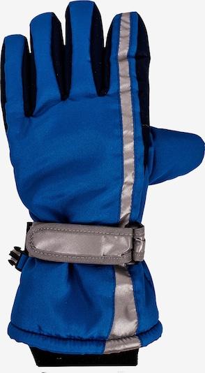 MAXIMO Fingerhandschuhe in blau / grau, Produktansicht