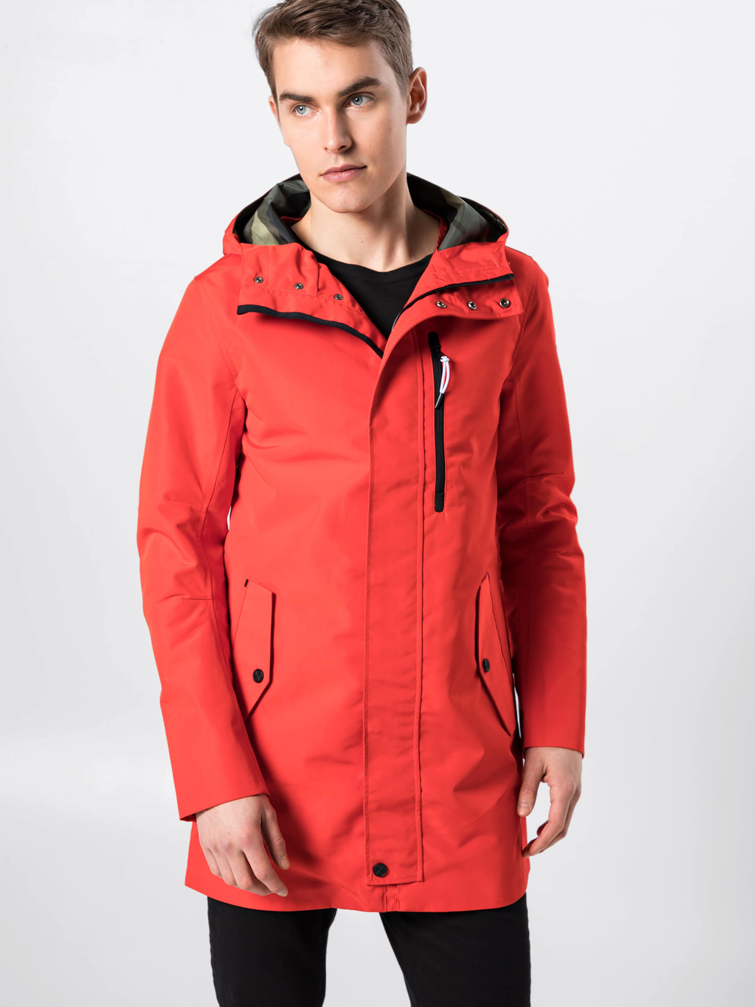 Tailor Rouge saison En Clair Mi Tom Parka KJcl1F