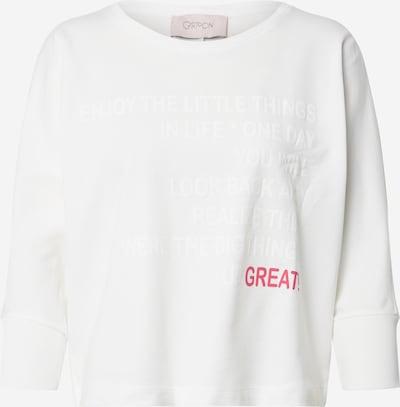 Cartoon Shirt in de kleur Offwhite, Productweergave