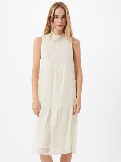 VERO MODA Kleid 'DAMLA' in beige / weiß, Modelansicht
