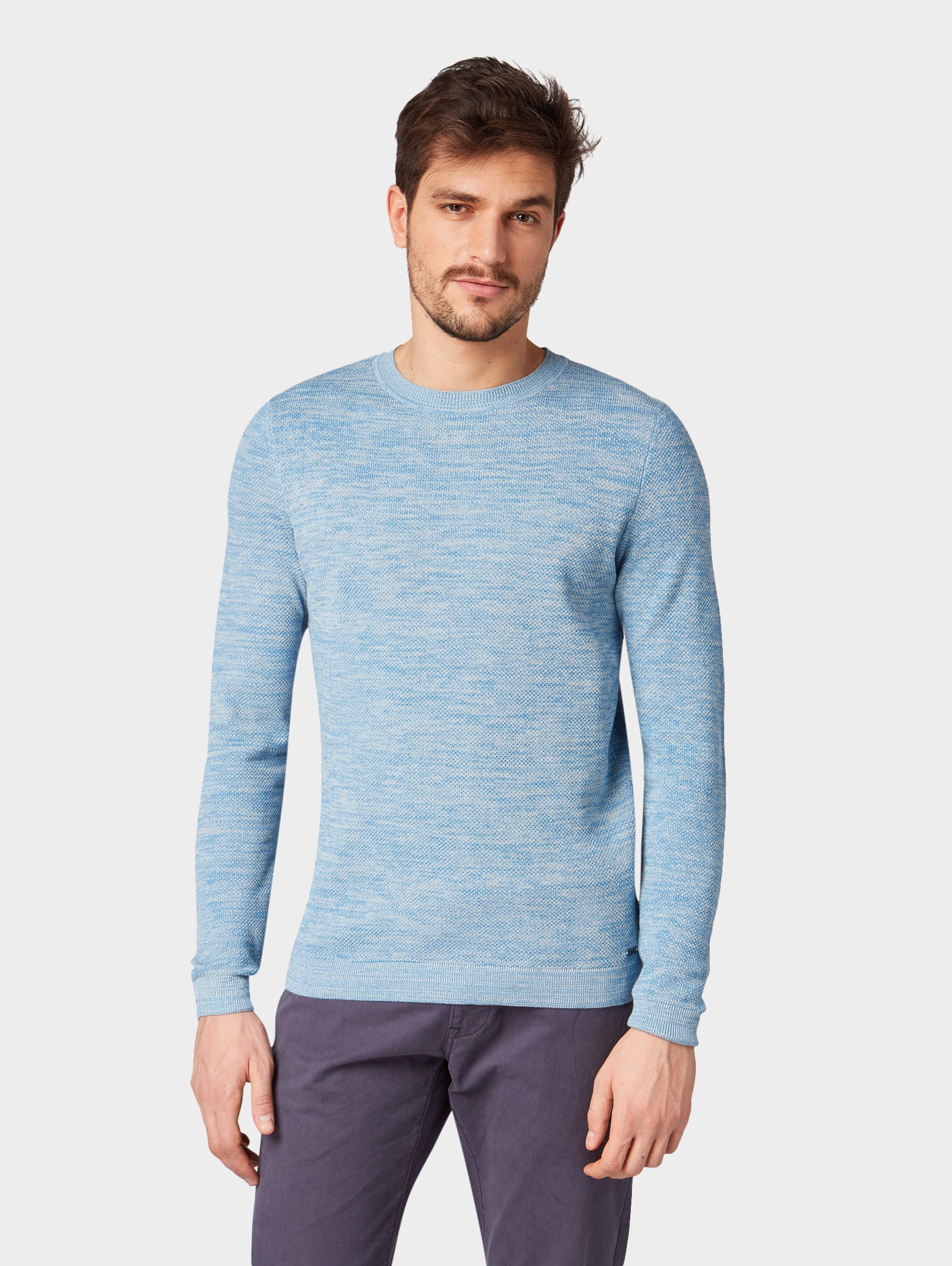 In Pullover Tailor Tailor Tom Hellblau Tom Pullover tsrdChQ