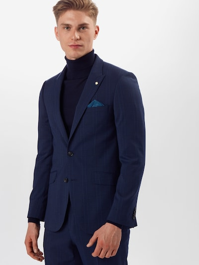 BURTON MENSWEAR LONDON Veste de costume en bleu marine, Vue avec modèle