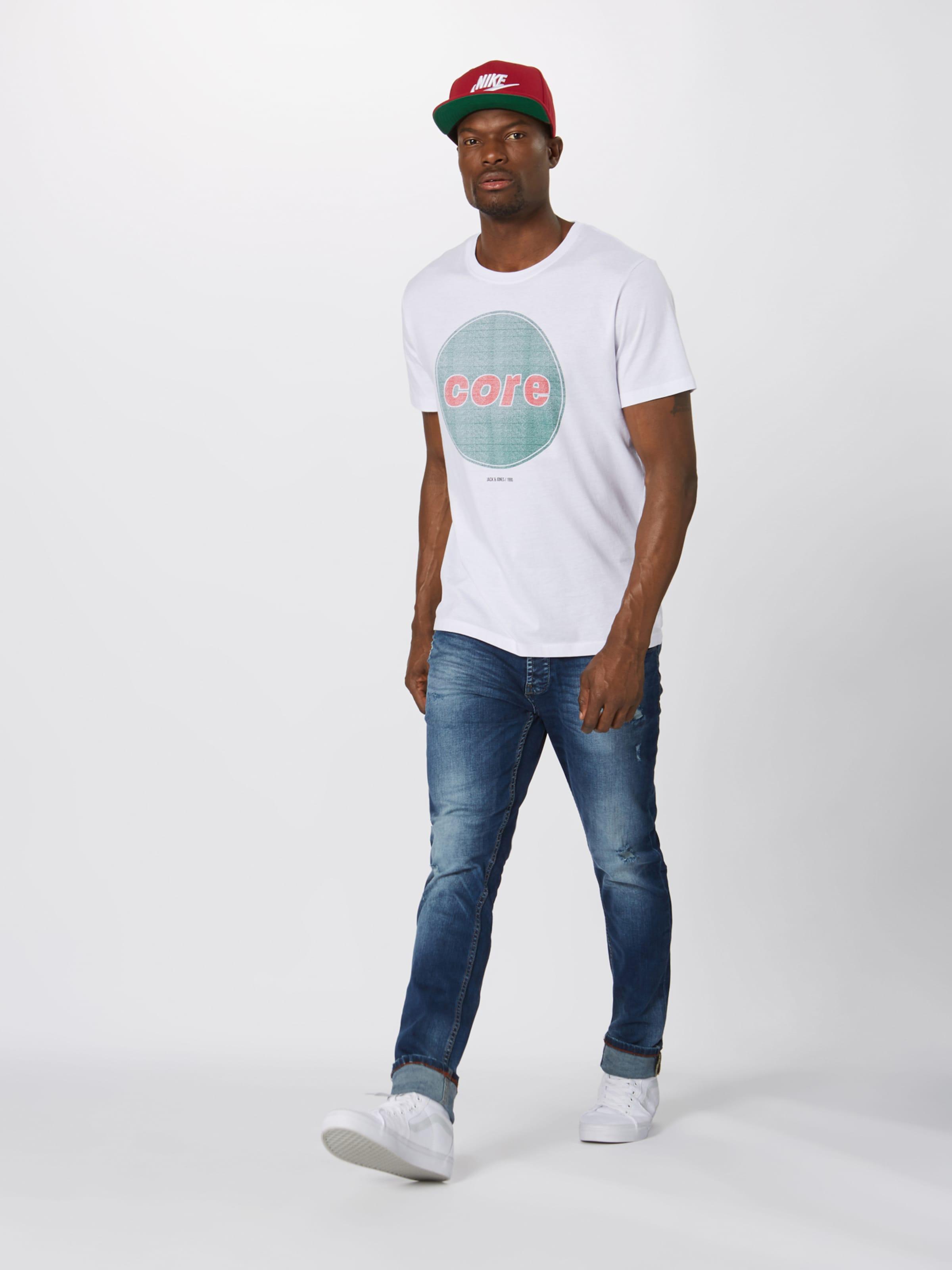 T shirt 'dustin' Jackamp; En VertBlanc Jones hCtrsQxBd