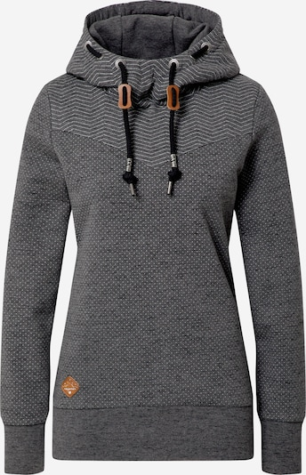 Ragwear Trui 'Nuggie' in de kleur Donkergrijs / Wit, Productweergave