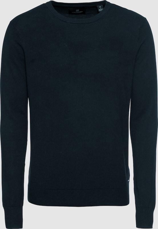 SCOTCH & SODA Pullover 'NOS Classic' in nachtblau    Freizeit, schlank, schlank 712a3e