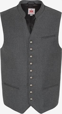 SPIETH & WENSKY Traditional Vest 'Nevio' in Grey