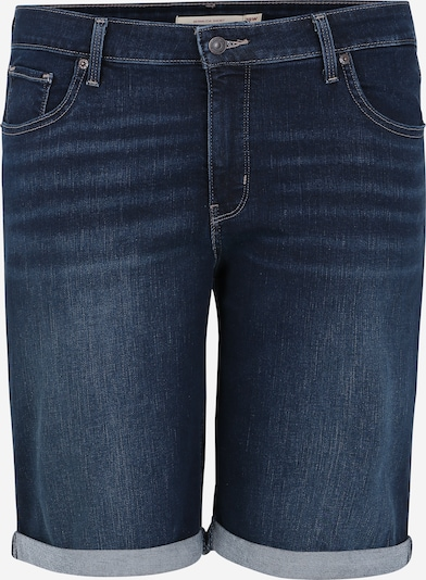 Levi's® Plus Jeans 'SHAPING BERMUDA' in blue denim, Produktansicht