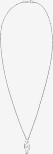 Diamore Ketting 'Infinity' in de kleur Zilver: Vooraanzicht