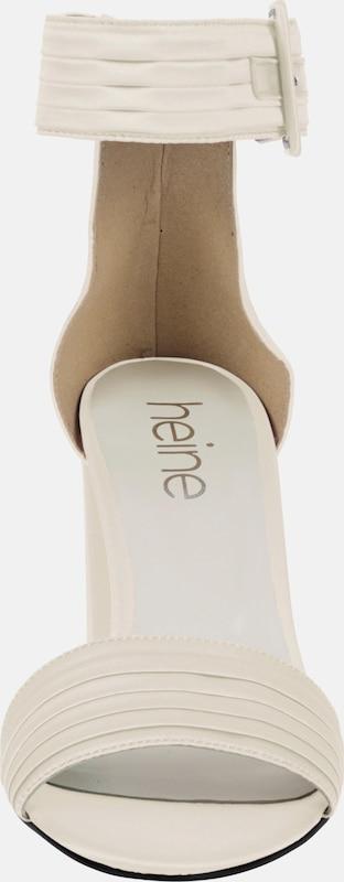 heine Sandalette aus Satinware