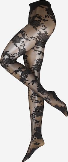 Ștrampi 'TI 20DEN Bold Florals' Hunkemöller pe negru, Vizualizare produs