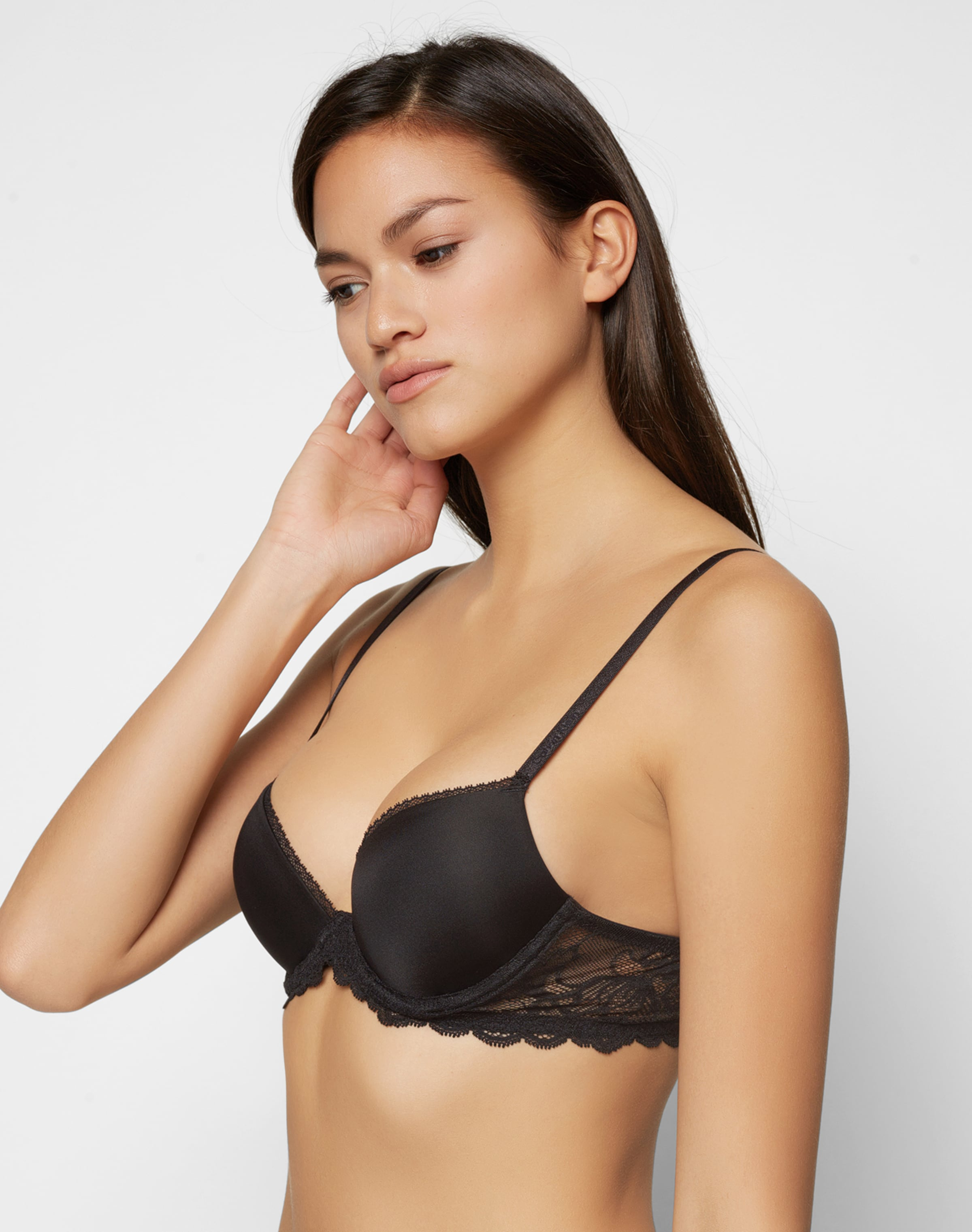 Webseite Günstiger Preis Spielraum Angebote Calvin Klein underwear BH mit Spitzendetails 'Demi' Günstig Kaufen Besuch Neu O3IdG