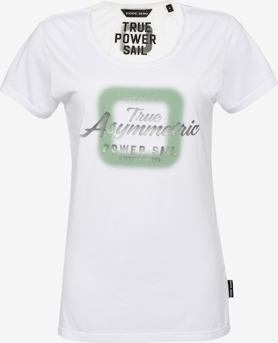 CODE-ZERO T-Shirt 'True Power' in weiß, Produktansicht