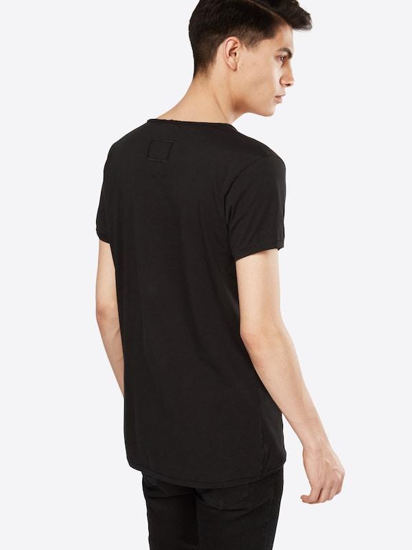 En 'malik' shirt Tigha T Noir Yfg76by