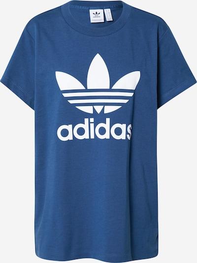 ADIDAS ORIGINALS T-shirt en bleu foncé / blanc, Vue avec produit
