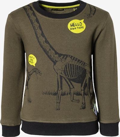 LEMON BERET Sweatshirt in gelb / oliv / schwarz, Produktansicht