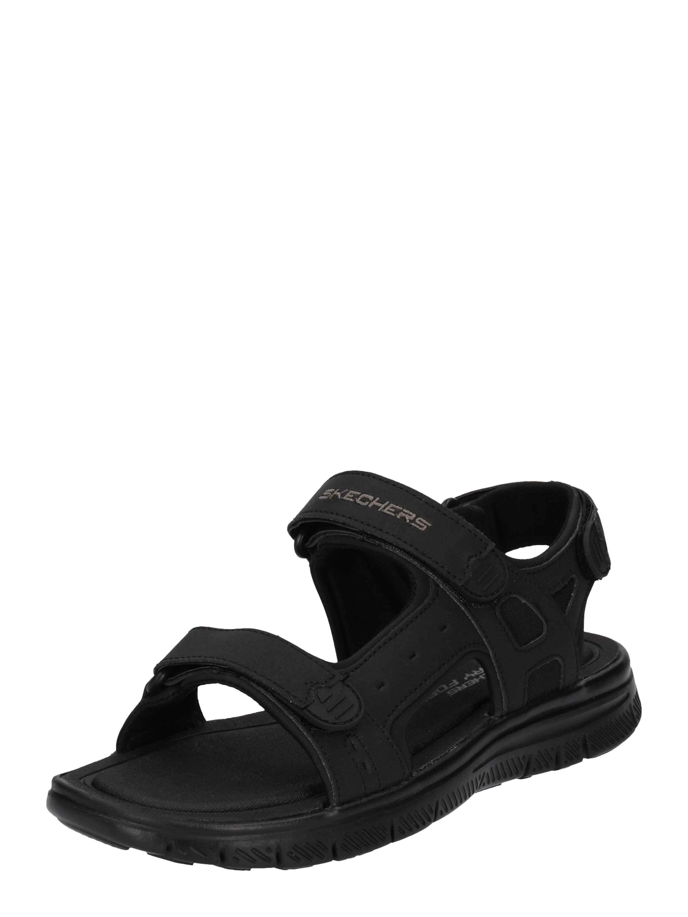 SKECHERS | Sandale mit verstellbaren Riemen Schuhe Gut getragene Schuhe