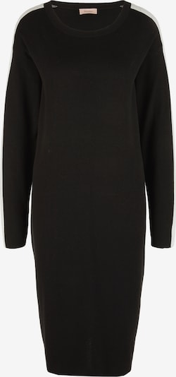 TRIANGLE Strickkleid in schwarz / weiß, Produktansicht