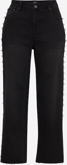 ONLY Wide Jeans 'LENA MW PEARL' in schwarz, Produktansicht